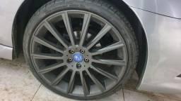 Rodas R20 5x100 Subaru com pneu 225 35 Delinte