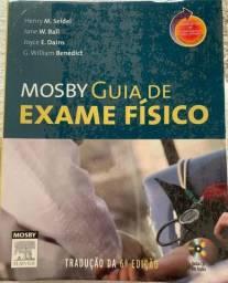 Mosby - Guia de Exame Físico. Em ótimo estado