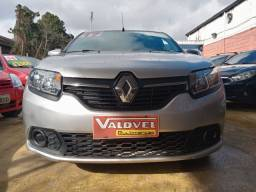 Renault Sandero 1.0 2017 flex . completo