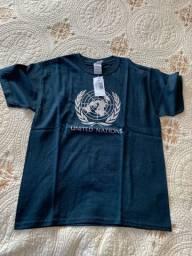 Camiseta oficial Nações Unidas