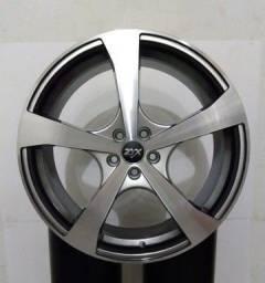 JG de rodas aro 19 5 x100 com pneus