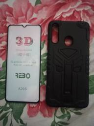 Capa armor+película 3D A20S