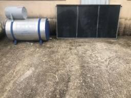 Aquecedor Solar - Boiler + Placa (Usado)