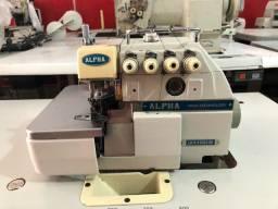 Máquina de costura Interlock Alpha semi nova!