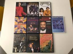 Coleção Dvds Diversos Tenores