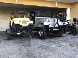 Jeep todo restaurado 1957 restaurei e não usei ainda