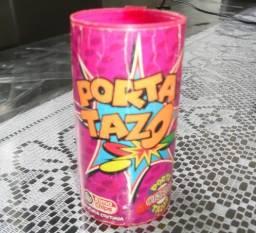 Porta Tazo, 43 Tazos. Animaniacs, Elma Chips, Pokemon