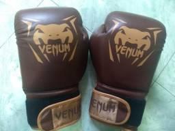 Luva De Boxe Venum New Contender - 16 oz - Marrom