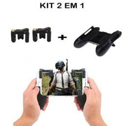 Kit Gamepad Botoes L1 R1 Gatilho Mira Tiro Controle para Celular ( Entrega Grátis)
