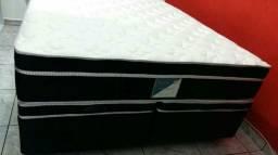 Colchão King size e box baú direto de Fábrica com a 12 parcelas de R $ 238.00