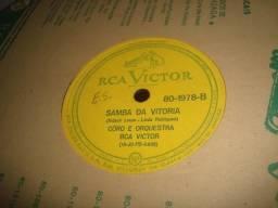 Coro e Orquestra RCA Victor, Cascatinha & Inhana, Vicente Celestino, 78 rpm