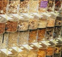 Venda de produtos naturai em grão