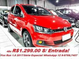 VW Fox 1.6 Run 2017/ Serie Especial - 2017