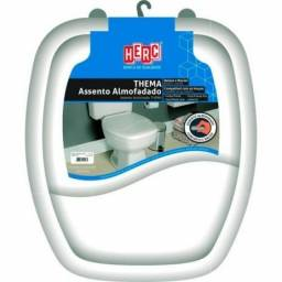 Título do anúncio: Assento Sanitário Almofadado Quadrado Thema Branco Herc