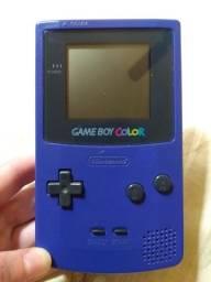Game Boy Color Roxo + Acessórios