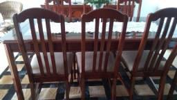 Mesa de jantar com 6 cadeiras