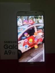 Galaxy a9 pro tela de 6 pl parcelo no cartão