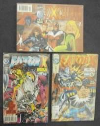 Lote Marvel - Excalibur Especial 01 + Fator-X 19 + Fator-X 20