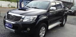 Hilux srv 4x4 tdi diesel cd automatico - 2013