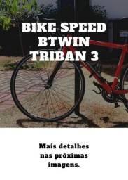 Bike Speed Triban 3 - Bom Estado De Conservação + Brinde