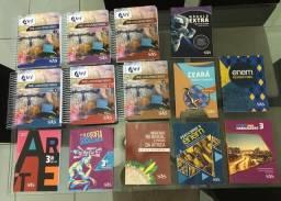 Vendo material didático SAS completo do Pré-Universitário do Colégio Ari de Sá Cavalcante