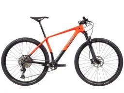 Bicicleta Caloi Carbon Sport 2021 - Lançamento - Grupo Shimano SLX 12v