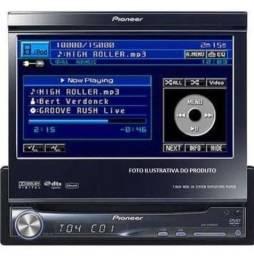 Dvd automotivo retrátil Pioneer avh p5900