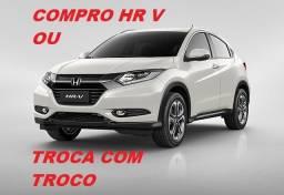 Honda HR V Pago À Vista ou Troca com Troco!