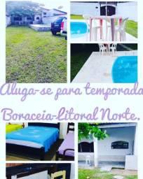 Casa para temporada Boraceia