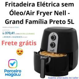 Fritadeira Elétrica sem Óleo/Air Fryer Nell - Grand Família Preto 5L<br><br>