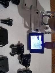 Câmera 4k semi nova para capacete