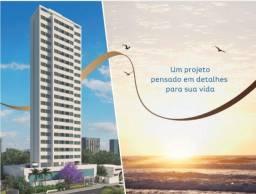 Apartamento com lazer completo e opção de praia, em Candeias