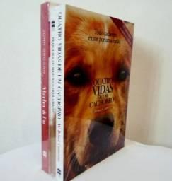Combo 3 Livros: Quatro Vidas+Procura-Se Meu Melhor Amigo+Marley & Eu (Novos Lacrados)