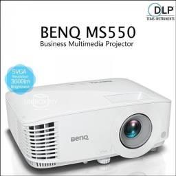 Projetor Benq Novo Ms550 3600 Lumens Hdmi Para ambientes com Luz NF