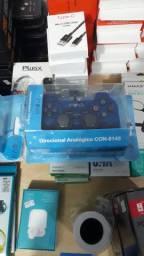 Controle Dualshook Inova PS2 é Ps1
