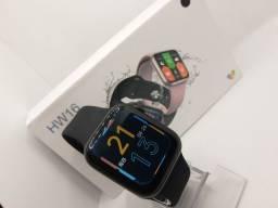 Relógio Smartwhatch IWO13 max Modelo HW16 Tela Infinita Versão atualizada 2021