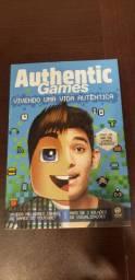 Livro AuthenticGames vivendo uma vida autentica