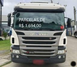 Título do anúncio: Scania P310 8x2 2017 Boiadeiro Entrada mais Parcelas e Contrato de em Lages.