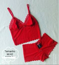 Conjunto Lingerie Tamanho M/42 - G/44 - GG/46