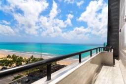13901- Lindo apto mobiliado 1 quarto, andar alto, vista mar, II Jardim, grande varanda