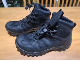Par de botas táticas guerreiros, made guaterlá