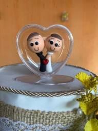 Topo de bolo de noivos