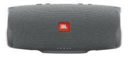 Caixa de som Primeira Linha JBL Charge 4 portátil com bluetooth grey