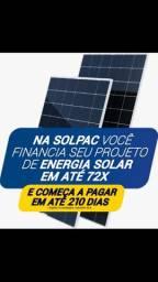 Energia solar - Projeto + instalação