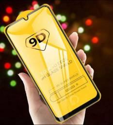 Película de vidro 9D para Samsung Galaxy A10