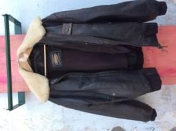 Título do anúncio: Jaqueta de couro importada MDK