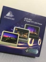 Tela Sobrepor Encosto Cabeça DVD LCD