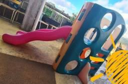 Playground Little Tikes Escorregador Modelo Triângulo