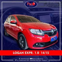 Título do anúncio: Renault Logan Exp 1.0 14/15