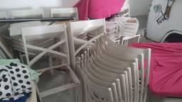 Cadeiras Ferro com almofada para Buffet